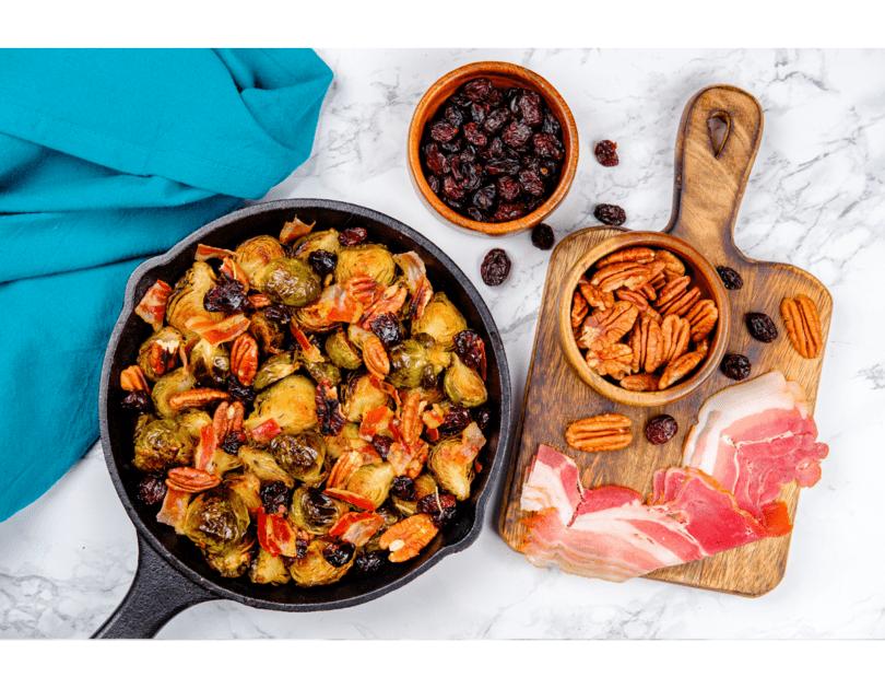 Salată cu varză de Bruxelles