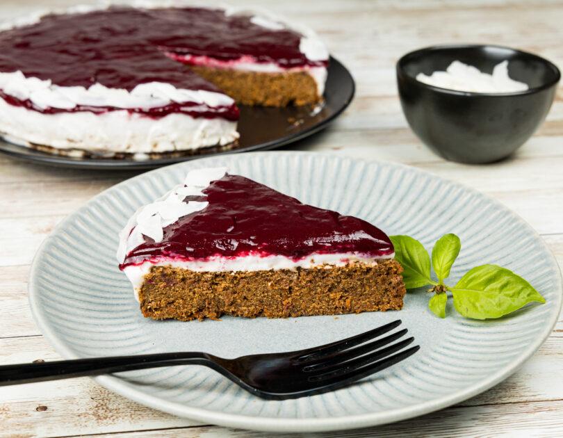 Carrot cake vegan (fără gluten)