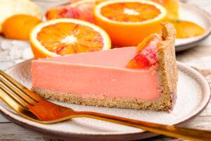Tartă cu portocale roșii