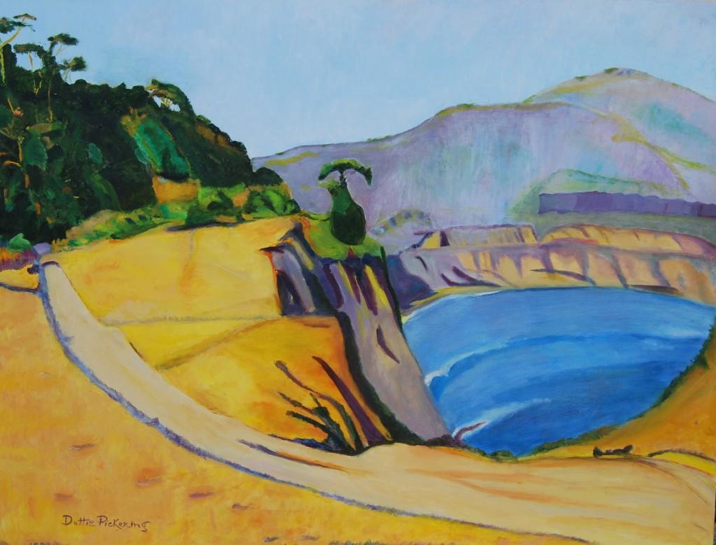 Santa Barbara Bluffs, by Dottie Pickering