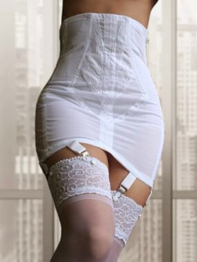 Rago Girdle 1294 in White