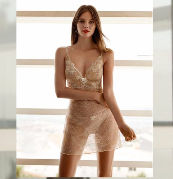 Selmark CHIARA Lace Babydoll Night Dress