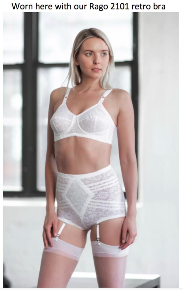 Rago 6197 Panty Girdle White