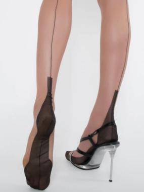 Contrast Heel