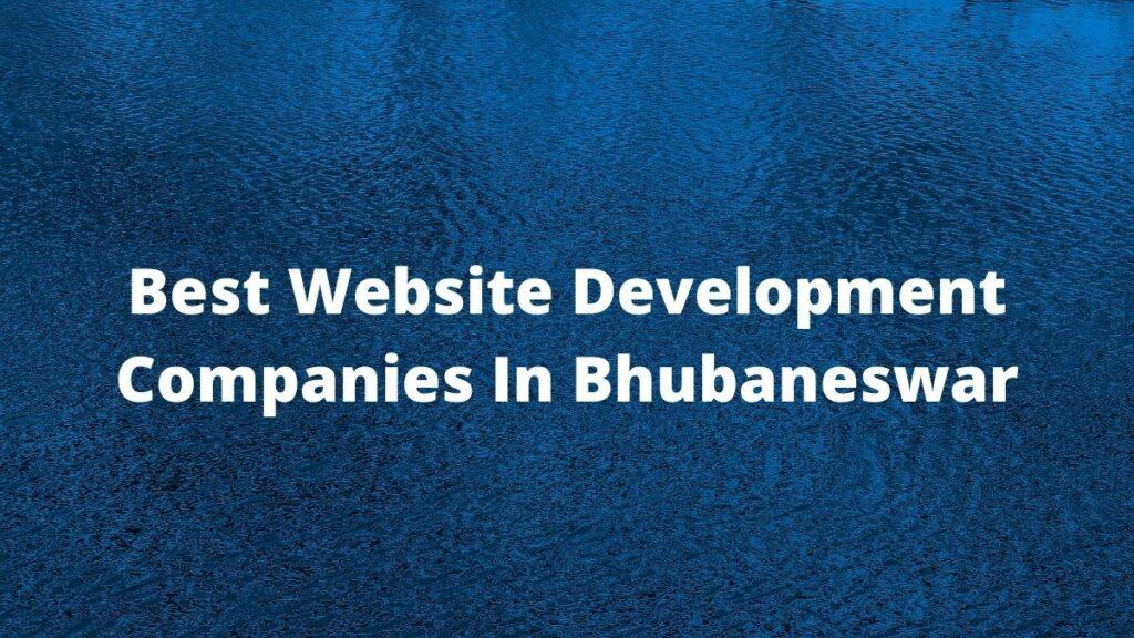 Best Website development companies in Bhubaneswar #1