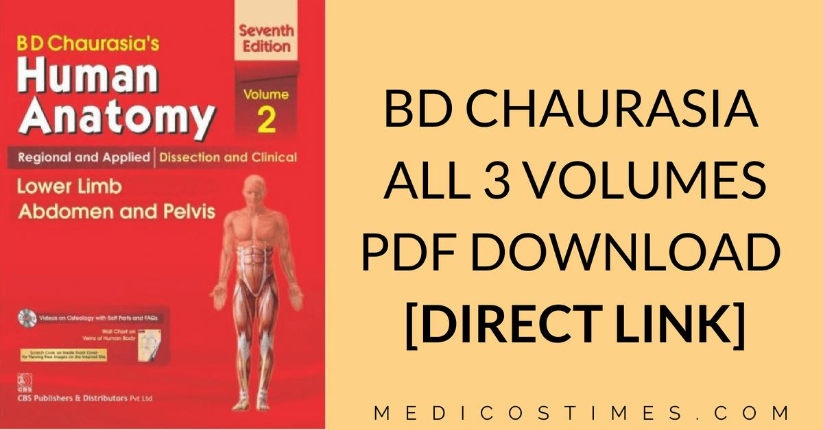 bd chaurasia pdf download