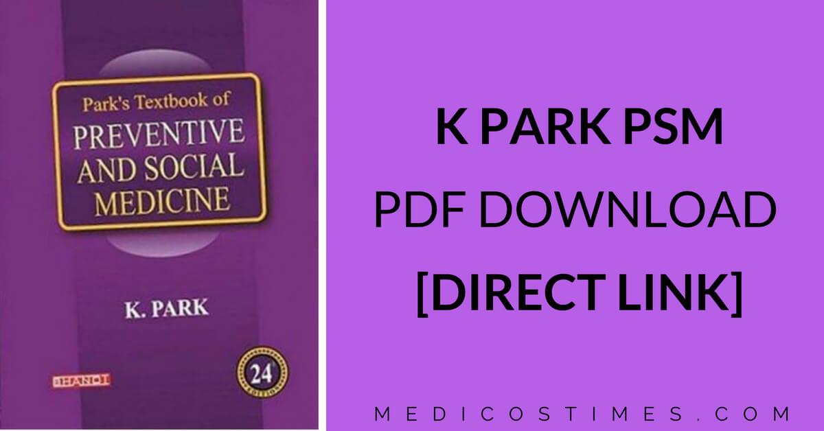 K PARK PSM DOWNLOAD