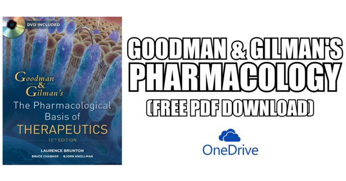 Goodman-Gilmans-Pharmacology-PDF-Free-Download