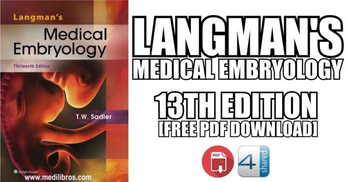 Langmans-Medical-Embryology-13th-Edition-PDF-Free-Download