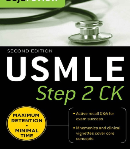 Deja-Review-USMLE-Step-2-CK-2nd-Edition