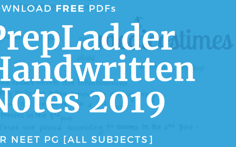 PrepLadder Handwritten Notes 2019