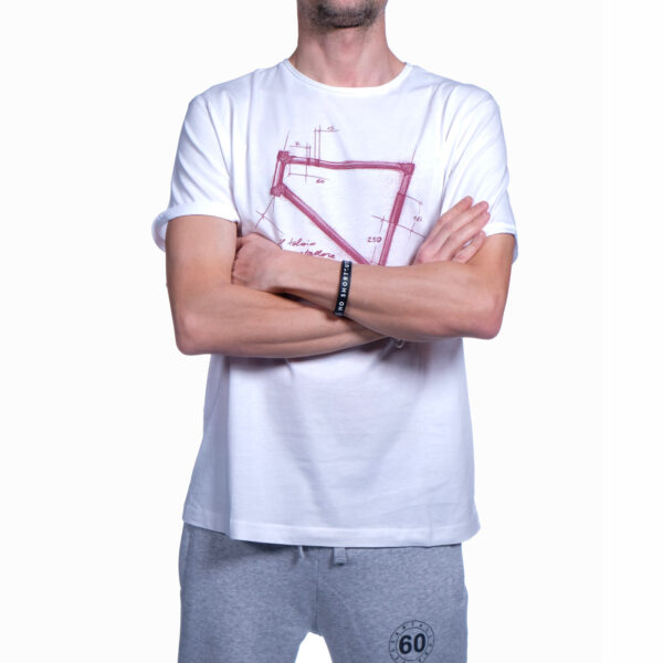 """Abbigliamento Tempo Libero - T-shirt Uomo Sessantallora """"Telaio Bici"""""""
