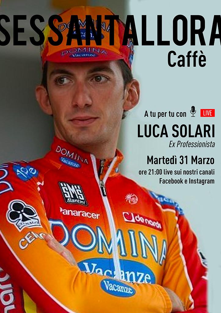 Sessantallora Caffè - A tu per tu con Luca Solari