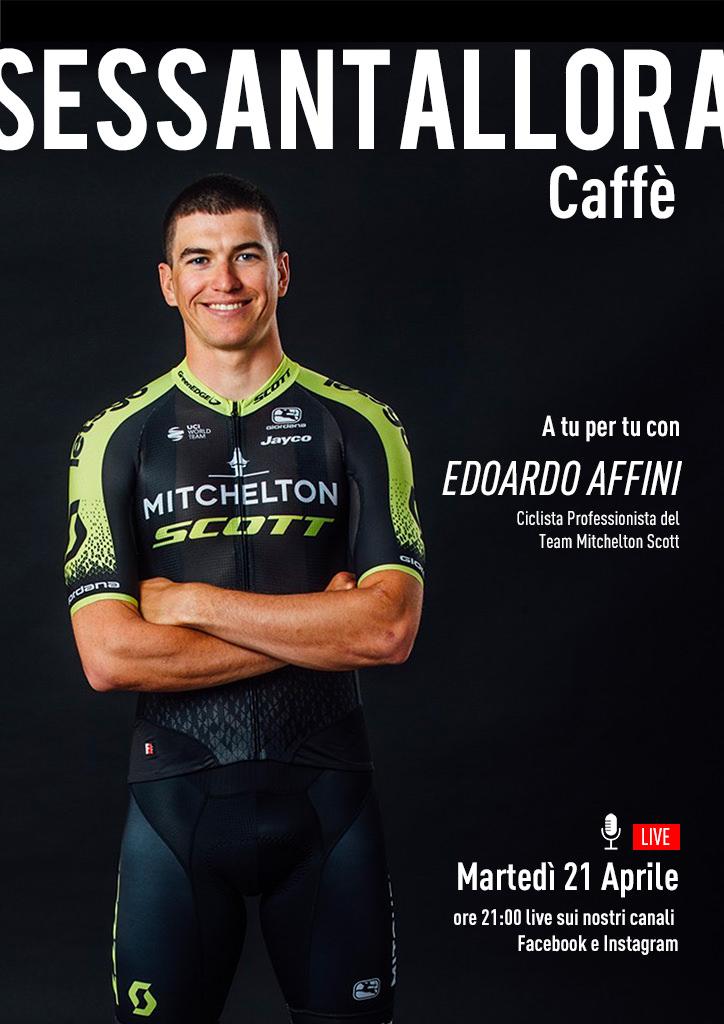 Sessantallora Caffè - A tu per tu con Edoardo Affini