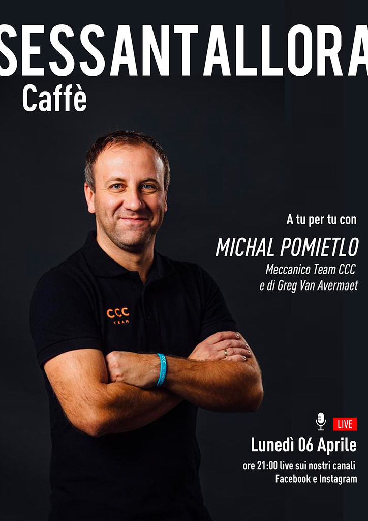 Sessantallora Caffè - A tu per tu con Michal Pomietlo