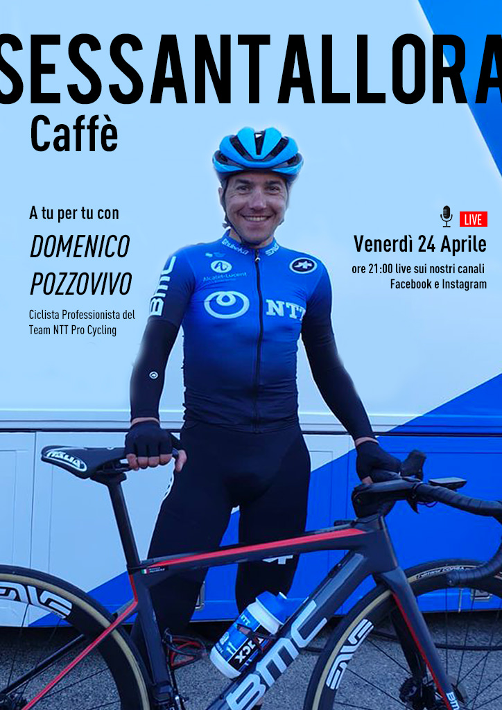 Sessantallora Caffè - A tu per tu con Domenico Pozzovivo