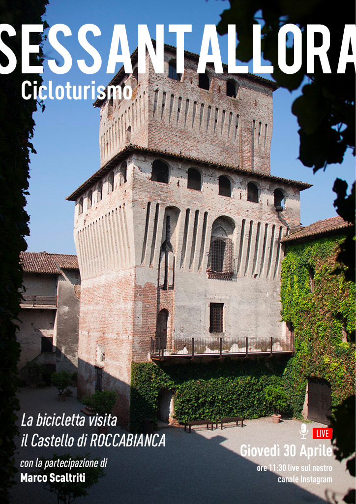 Cicloturismo - La bicicletta visita il Castello di Roccabianca