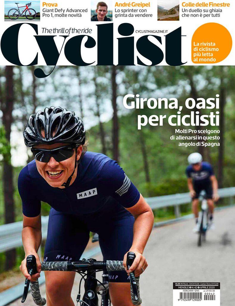 Sessantallora Training Camp su Cyclist Magazine di Aprile