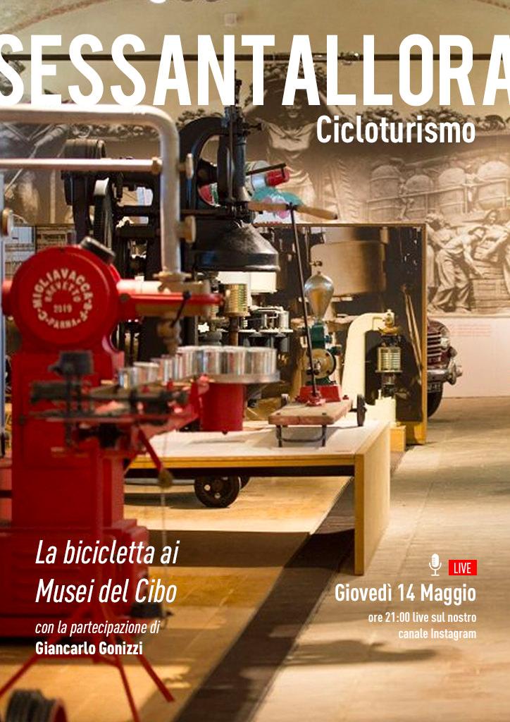 Cicloturismo - La bicicletta ai musei del cibo