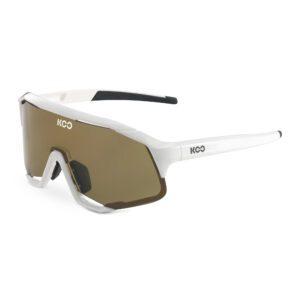 occhiali da sole KOO Demos White/Lightbrown