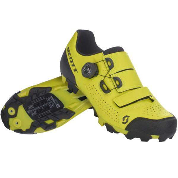 scarpe mtb Scott MTB Team BOA Yellow/Black