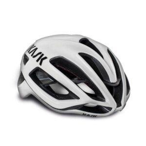 casco strada bici da corsa Kask Protone White