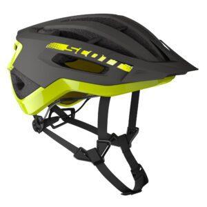 casco bici strada mtb Scott Fuga Plus Rev (CE) Dark Grey/Radium Yellow