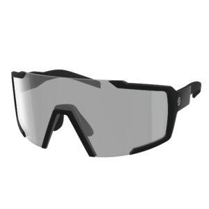 Occhiali da sole SCOTT Shield Light Sensitive Black Matt / Grey Light Sensitive
