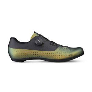 scarpe bici da corsa Fizik Tempo Overcurve R4 Iridescent Beetle Black