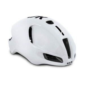casco strada bici da corsa Kask Utopia White/Black
