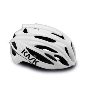 casco strada bici da corsa Kask Rapido White