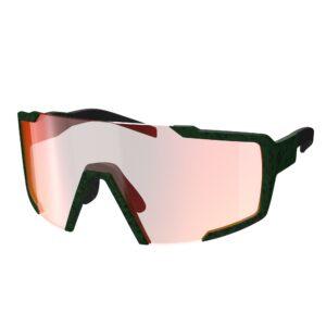 occhiali da sole Scott Shield Iris Green/Red Chrome Amplifier