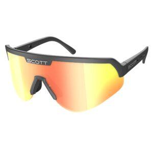 occhiali da sole Scott Sport Shield Black/Red Chrome