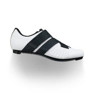 scarpe bici da strada Fizik Tempo Powerstrap R5 White/Black