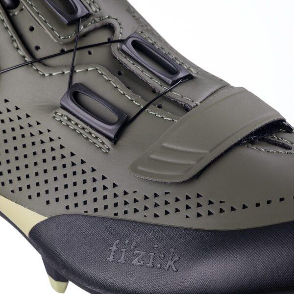 scarpe mtb Fizik Terra X5 Military Green/Tangy Green
