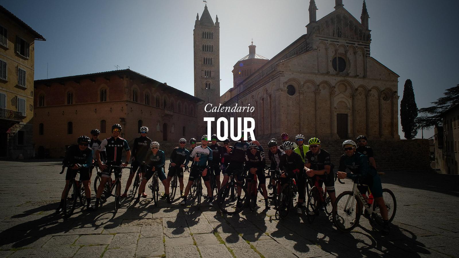 Calendario Tour e Training Camp Sessantallora