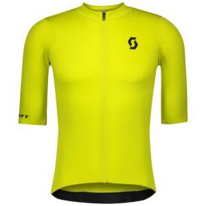 Maglia da uomo SCOTT RC Premium M/C Sulphur Yellow/Black