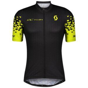 Maglia da uomo SCOTT RC Team 10 M/C Black/Sulphur Yellow