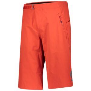 Pantaloncini da Uomo SCOTT Vertic Pro con Fondello Fiery Red