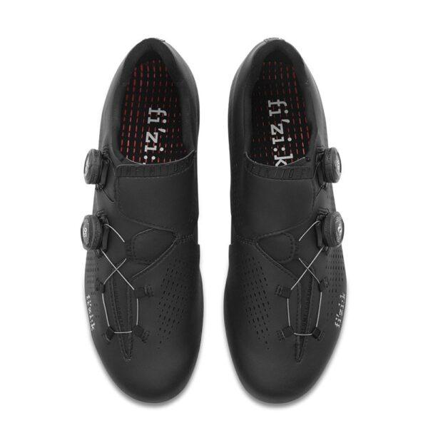 scarpe bici da corsa Scarpe Fizik Road R1 Infinito Black/Black