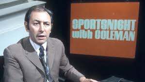 "TV Football 1968-92 on Twitter: ""Back in the 1970s & 80s we had BBCs  Sportsnight with David Coleman & Harry Carpenter, and ITVs Midweek Sport  Special with Brian Moore & Elton Wellesby."