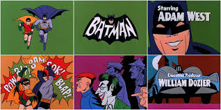Batman (1966) — Art of the Title