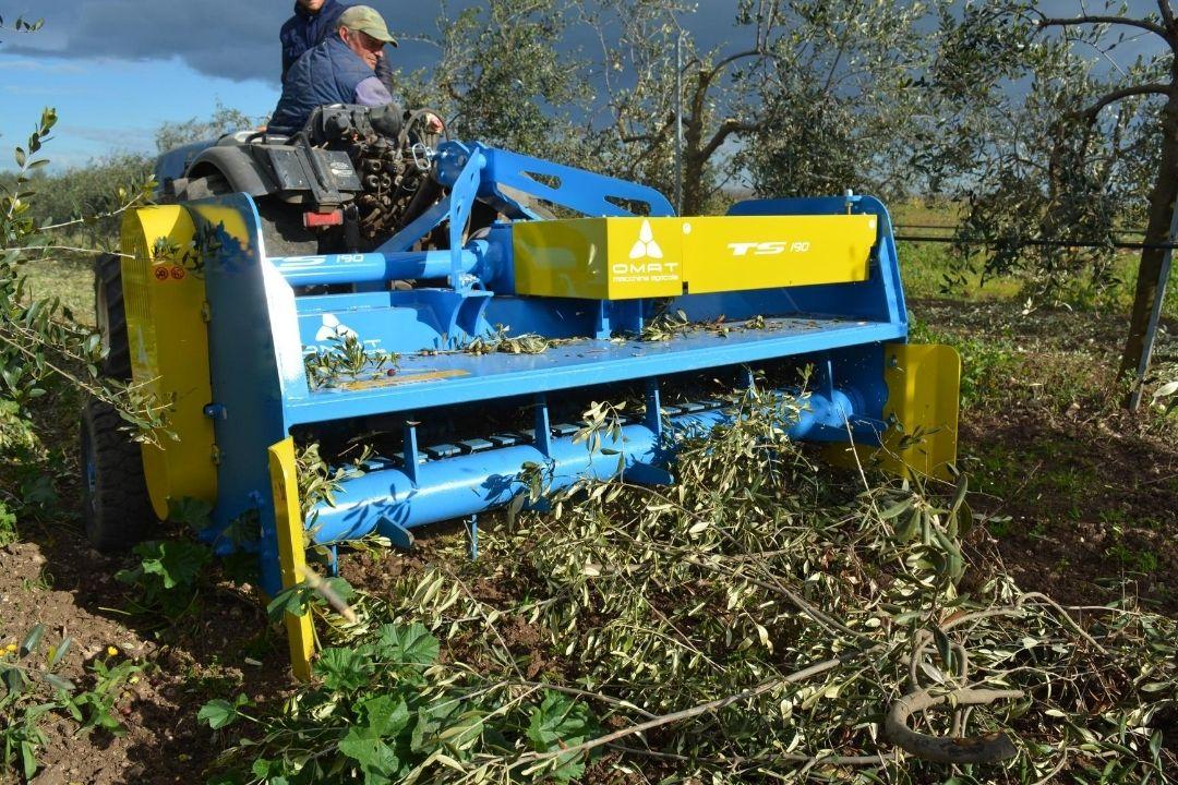 Trituradora OMAT Serie TS-R-MECH