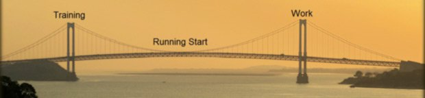 Running Start Bridges your Training and your Work