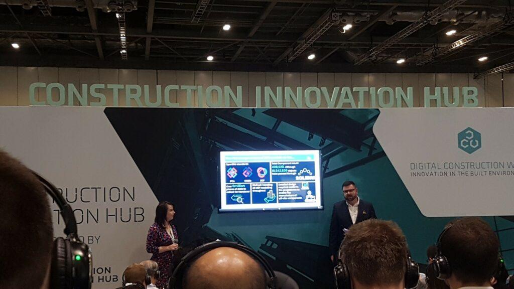 Construction Innovation Hub at Digital Construction Week 2019