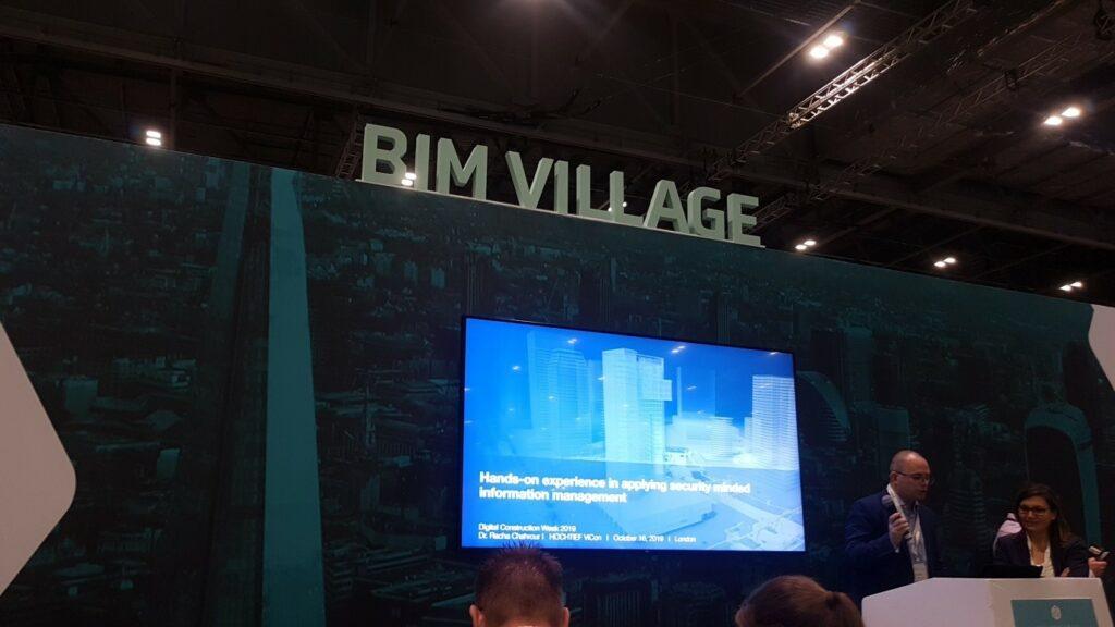 BIM Village at Digital Construction Week 2019
