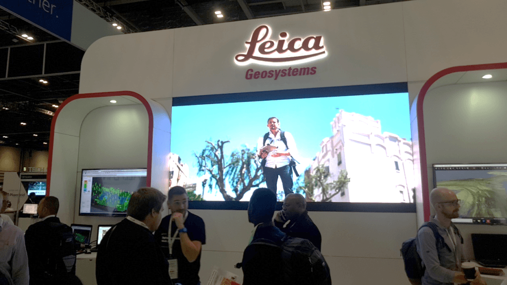 Leica Stand at Digital Construction Week 2019
