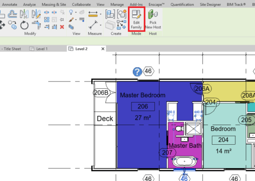 Edit Family Button in Revit