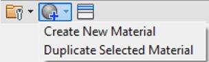 Duplicate Selected Material Menu