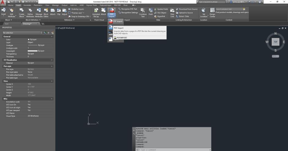 AutoCAD DWG Drawing Insert PDF